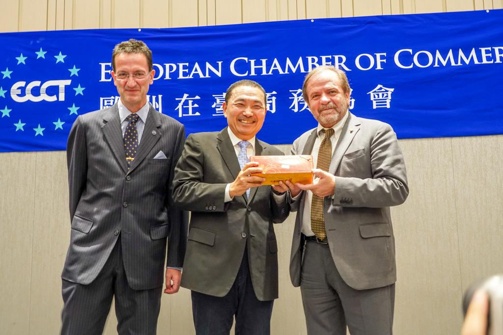 幸福新北─安居樂業  新北市與歐洲商會對談 廣邀外國投資者投資新北