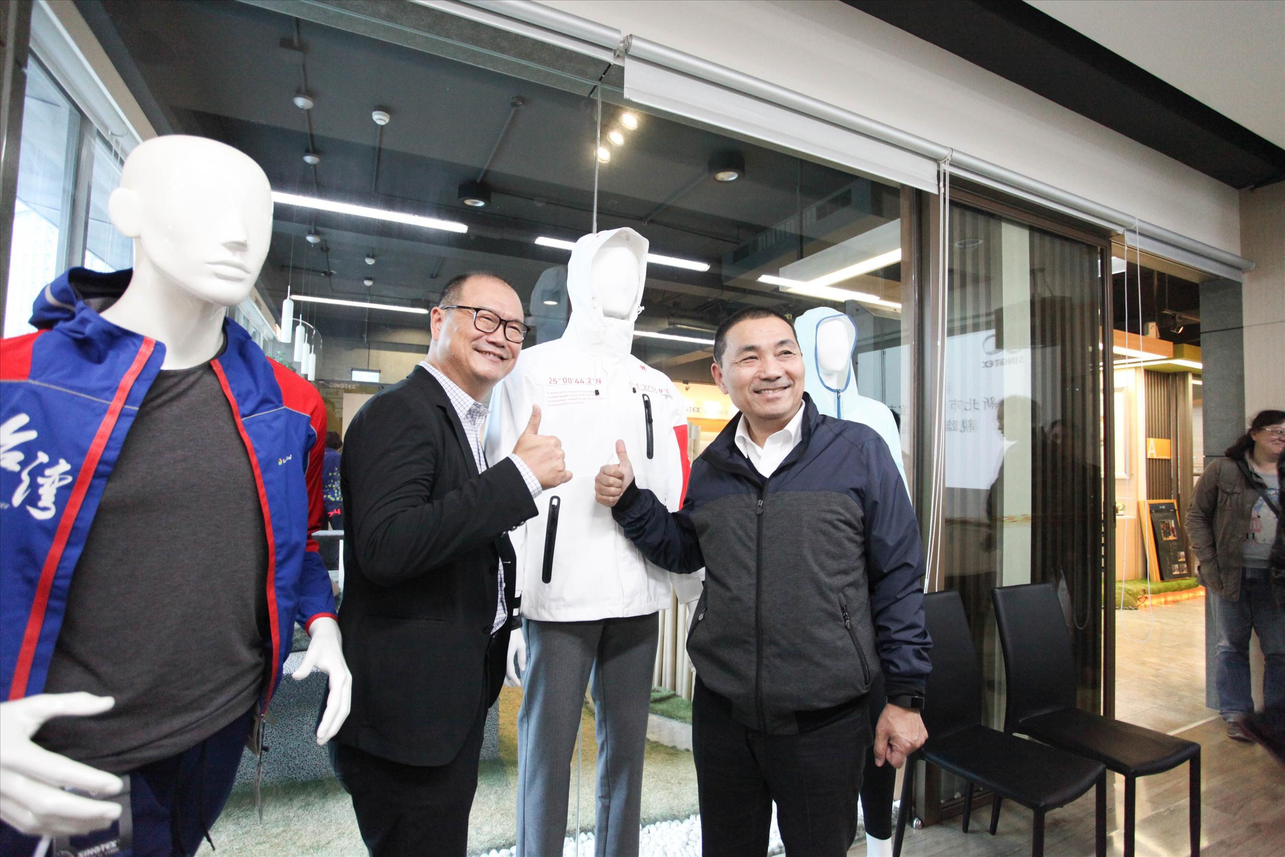 侯友宜重招商  視察新北宏匯廣場工程進度  感佩興采實業創新精神