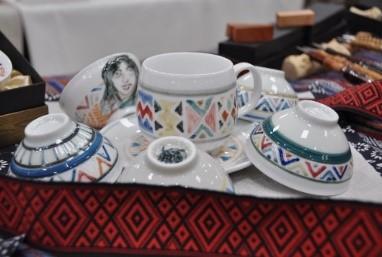 泰雅藝術茶杯組