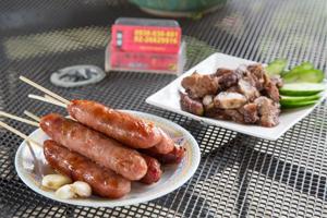 黃家古厝黑豬肉高粱香腸