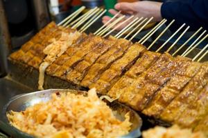 金大鼎串燒香豆腐
