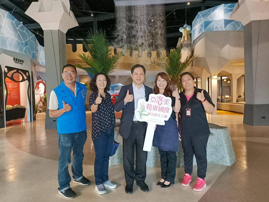 新北振興168消費滿額抽獎15日開放登錄  吳明機副市長訪視業者 呼籲一同力拼疫後新經濟
